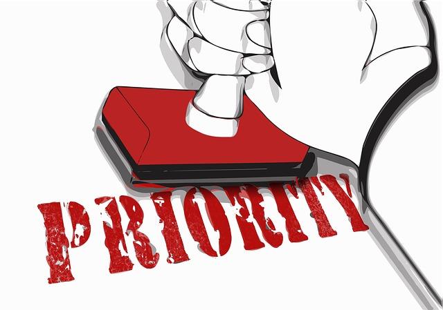 פריוריטי מסחרית נהדרת לניהול העסק